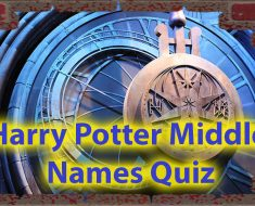 Harry Potter middle names quiz - Do You know them all ? 33