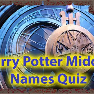 Harry Potter middle names quiz - Do You know them all ? 47