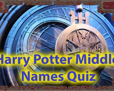 Harry Potter middle names quiz - Do You know them all ? 1