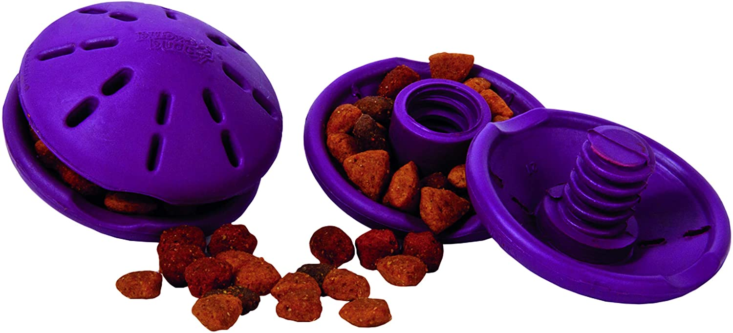bd11d7ab petsafe busy buddy twist n treat interactive feeder for dogs