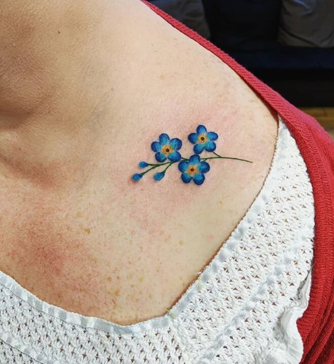 83be8e25 floral tattoos