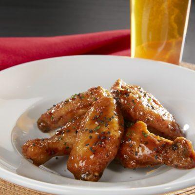 Black Pepper Teriyaki Wings
