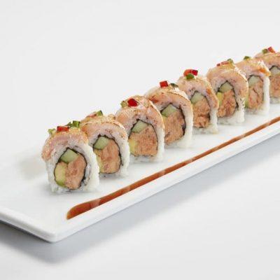 Smoky Salmon Roll