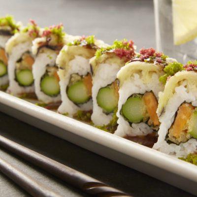 Vegetable Tempura Roll