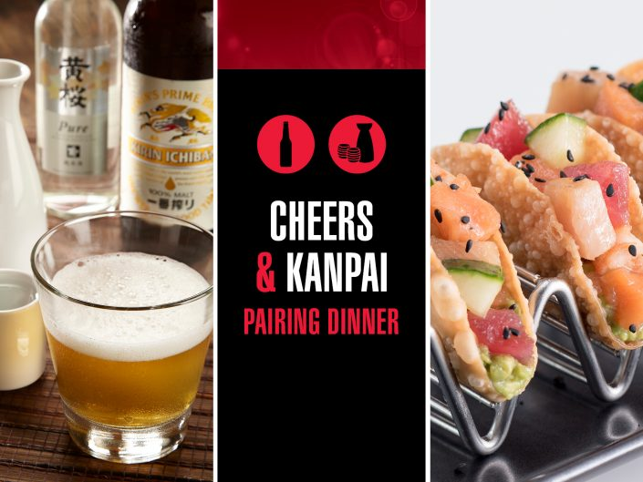 Cheers & Kanpai
