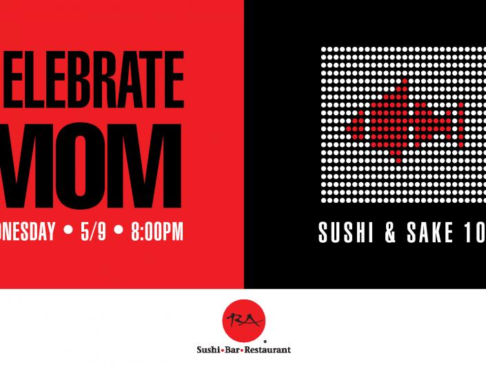 Sushi & Sake 101 Mother's Day