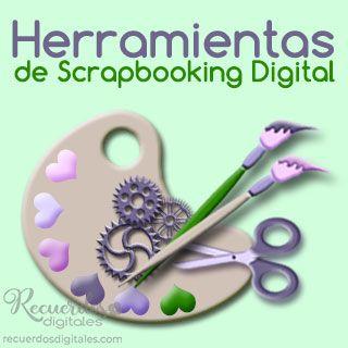 Herramientas de Scrapbooking Digital: Plantillas de capas, Pinceles, Máscaras de Recorte, Estilos de Photoshop... y todo lo necesario para elaborar tus páginas de álbum.
