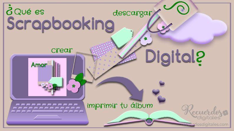 El Scrapbooking Digital es un tipo de Scrapbooking que podrás hacer con tu ordenador. Su esencia es exactamente la misma que la del Scrap Tradicional, sin embargo, emplea materiales y herramientas diferentes.