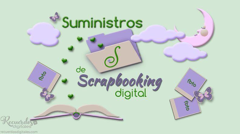 Necesitas Suministros de Scrapbooking Digital, tus fotos digitales, una conexión a Internet e imprimir tus álbumes