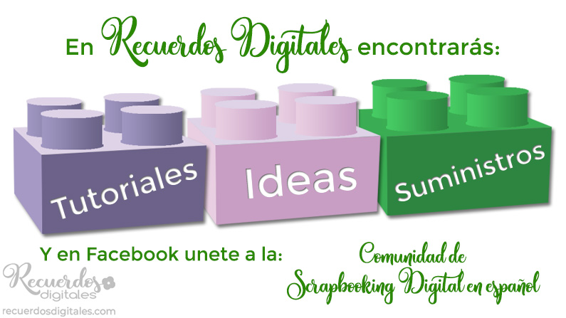 Encuentra apoyo para crear esos álbumes de recortes en Recuerdos Digitales