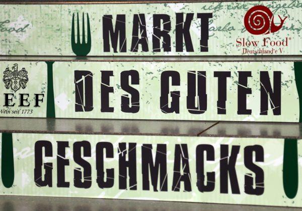 """Besuchen Sie uns auf dem """"Markt des guten Geschmacks – die Slow Food Messe"""" in Stuttgart"""