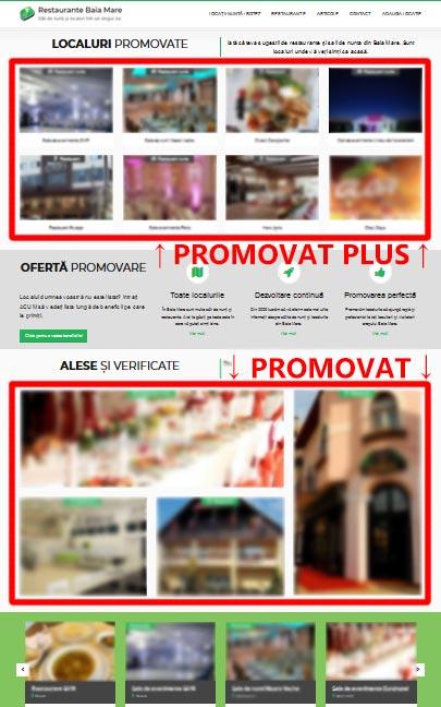 Oferta promovare sala de evenimente Baia Mare