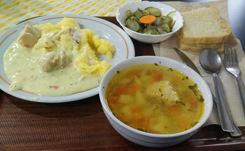 Pranz meniul zilei restaurant Ghitta