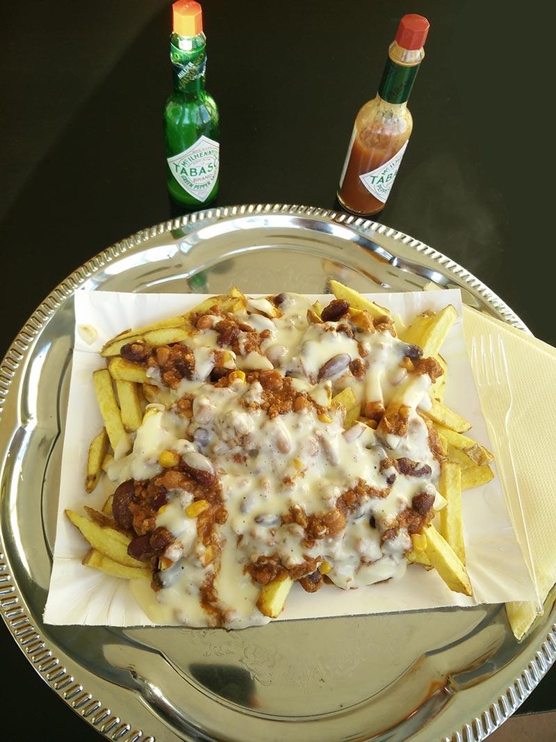 Chili cheese fries la Mamasita Mexican American Grill Baia Mare