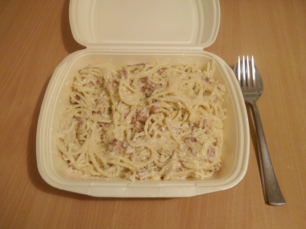 Paste carbonara Glory Days Baia Mare