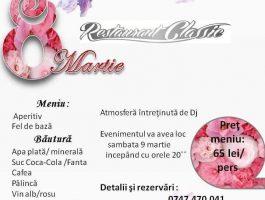 8 Martie la Restaurant Classic