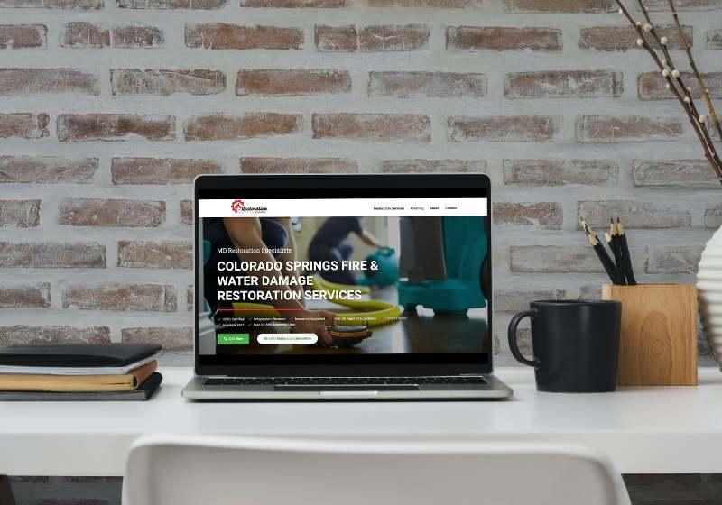 professional restoration website