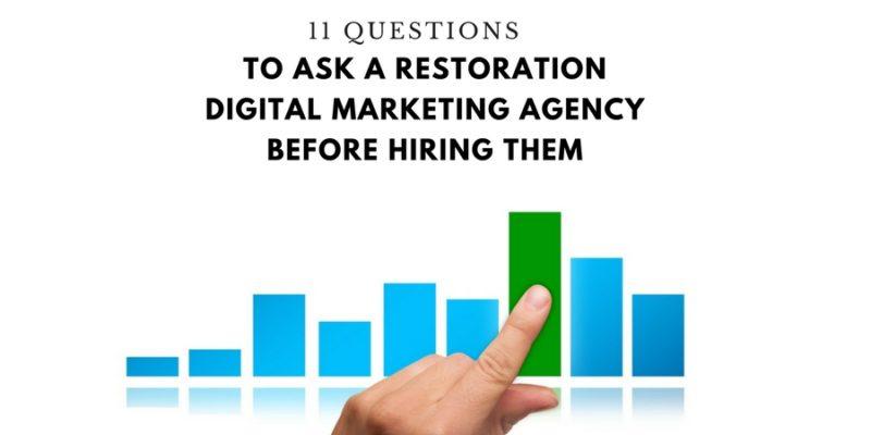 restoration digital marketing agency