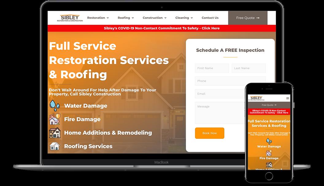 new restoration website