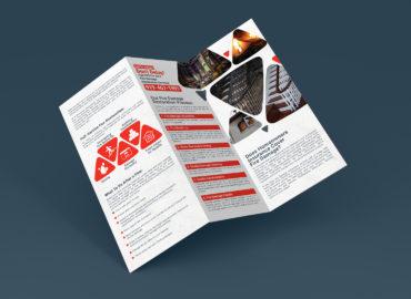 print marketing brochure