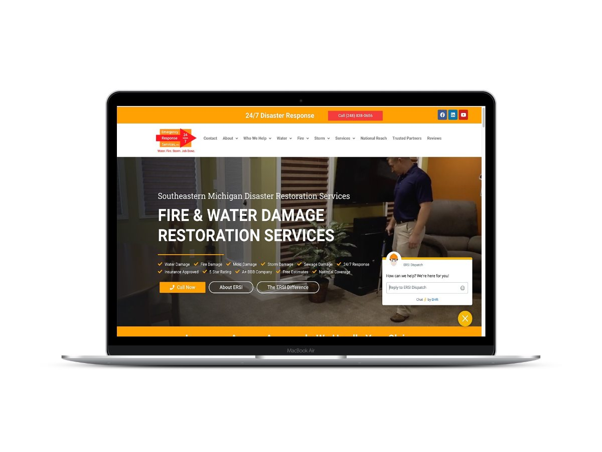 ew restoration website