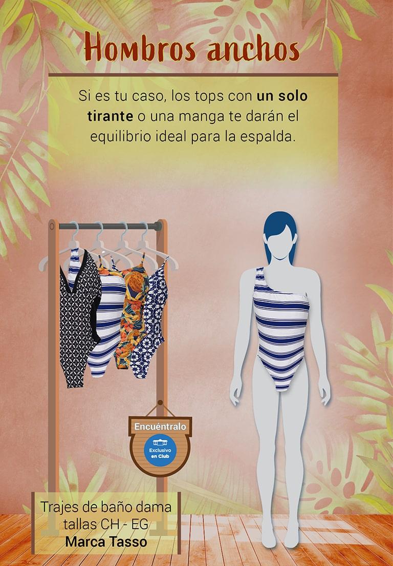 Descubre cuál traje de baño te va mejor