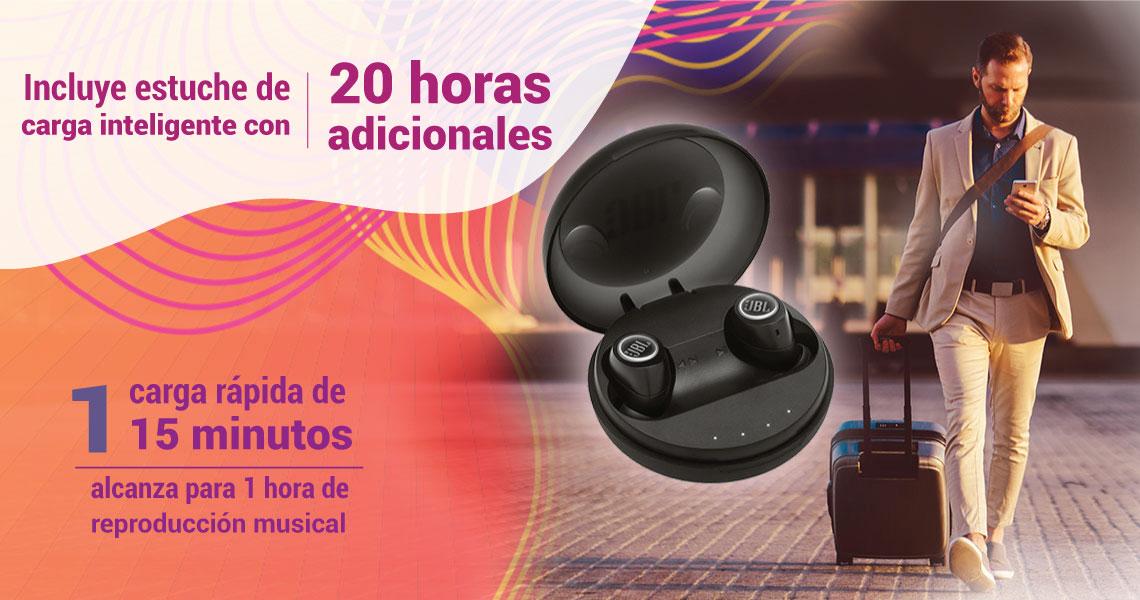 Audífonos inalámbricos, música sin ataduras