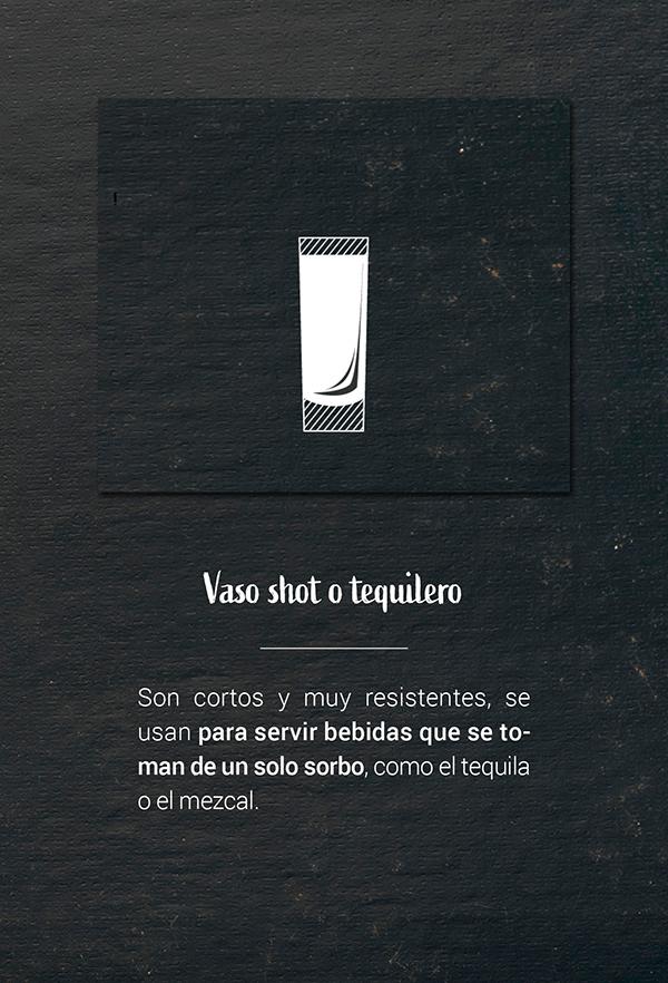 Vaso shot o tequilero