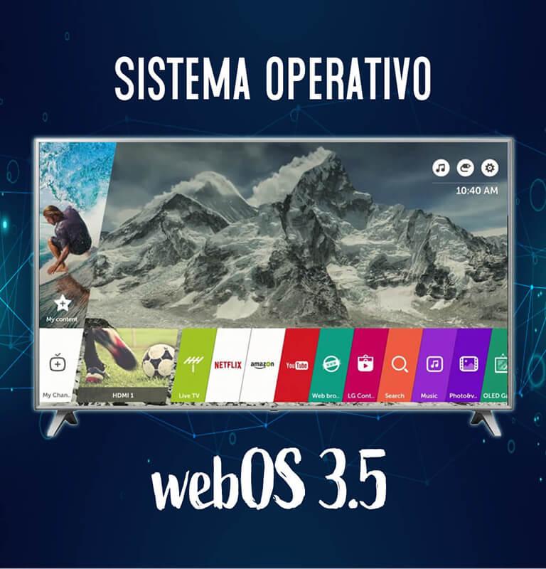 Sistema operativo webOS 3.5
