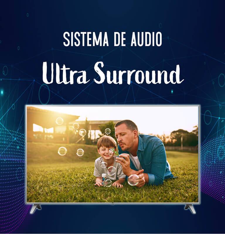 Sistema de audio Ultra Surround