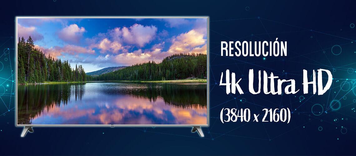 Resolución 4k Ultra HD (3840x2160)