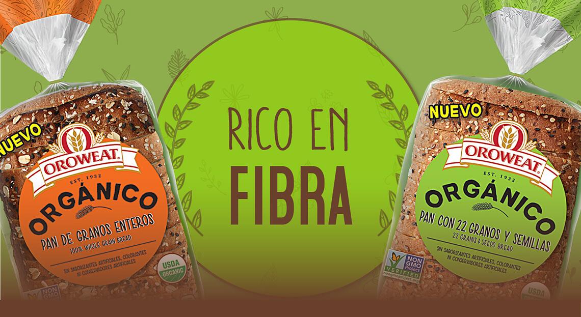 Pan orgánico más rico y saludable
