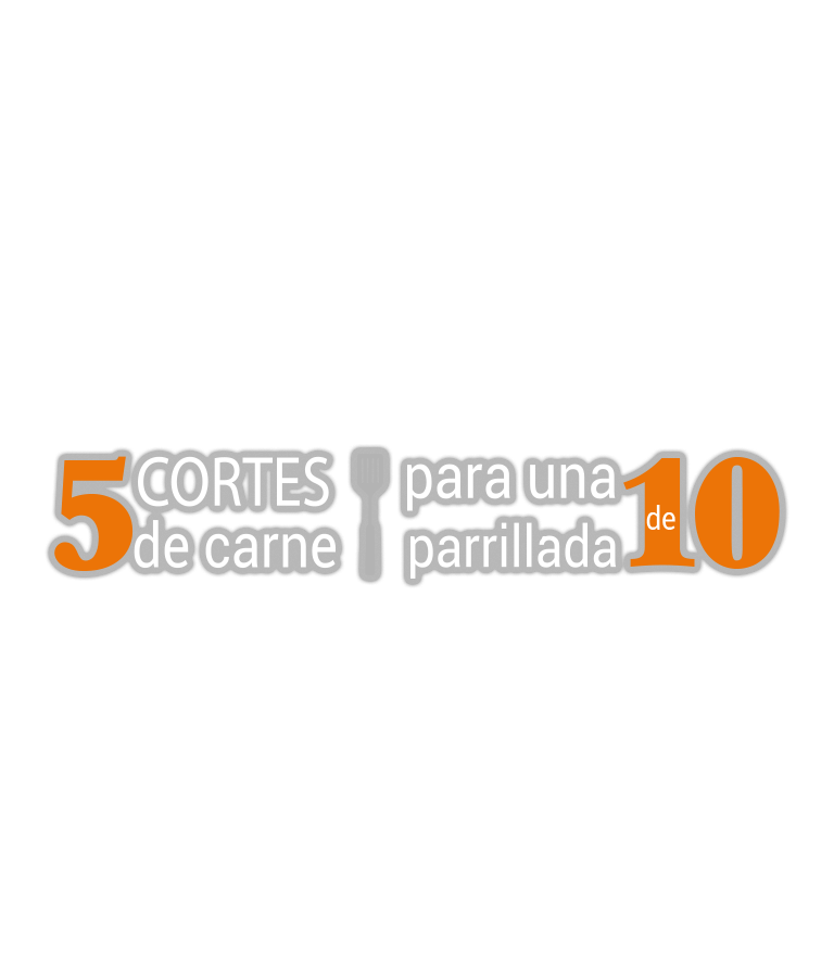 5 Cortes de carne para una parrillada de 10