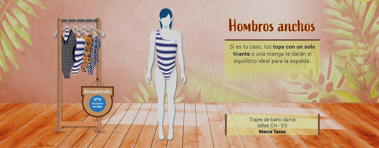 Hombros anchos