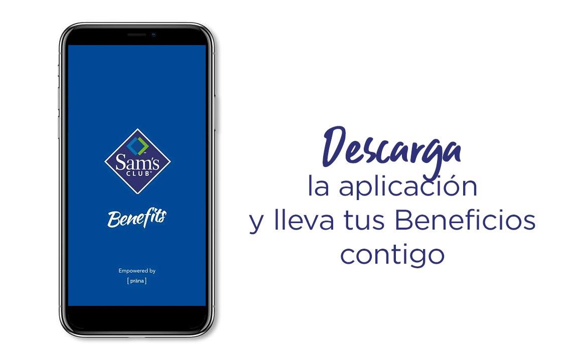 1. Descarga la aplicación y lleva tus Beneficios contigo