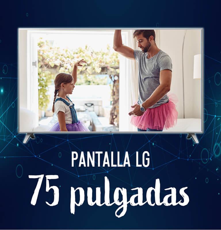 Pantalla LG 75 pulgadas