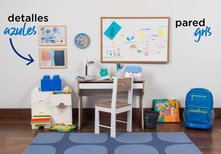 Crea tu espacio de estudio...o de trabajo