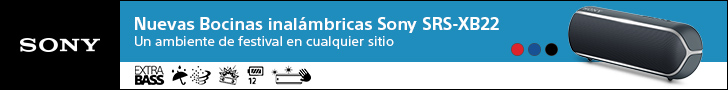 Sony Bocina SRS-XB22 728x90