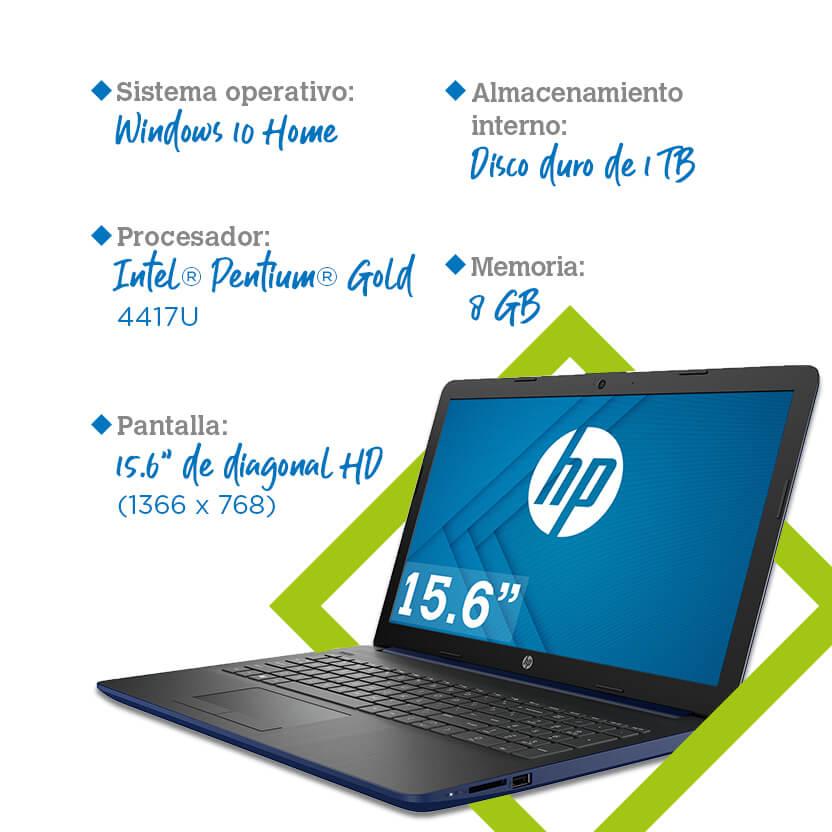 Laptop HP 15-da0077la