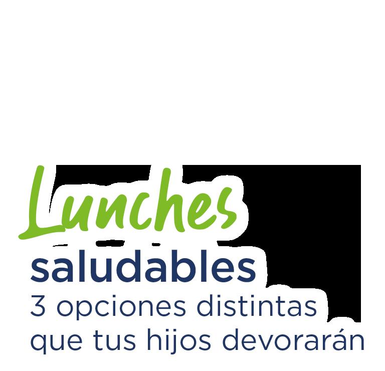 Lunches saludables, 3 opciones distintas que tus hijos devorarán