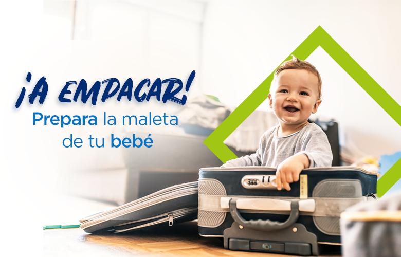 Prepara la maleta del bebé