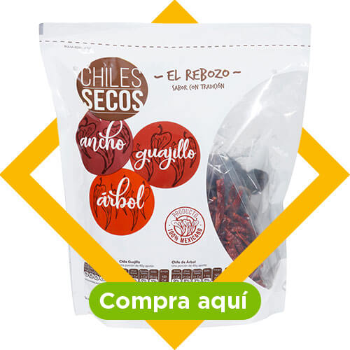 Compra aquí: Mix de chiles secos