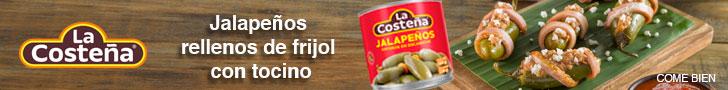 Anuncio: La costeña chiles jalapeños, celebrando los sabores de México