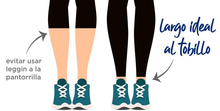Leggings, 6 reglas básicas para usarlos