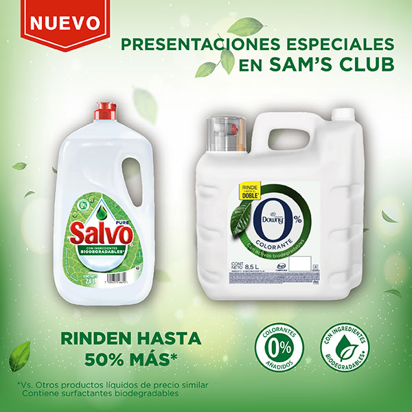 Anuncio: Salvo presentaciones especiales en SAMs club - Expandido