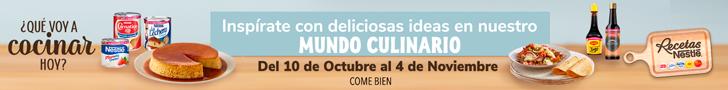 Nestle Mundo culinario 728x90