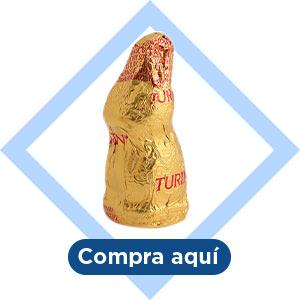 Conejitos de chocolate Turín