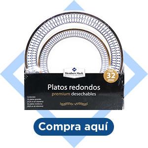 Platos redondos Member's Mark