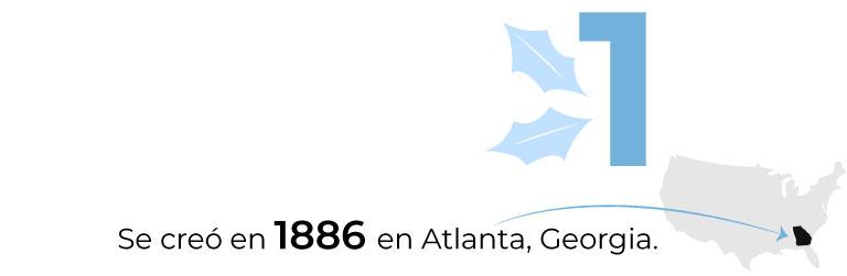 Se creó en 1886 en Atlanta.