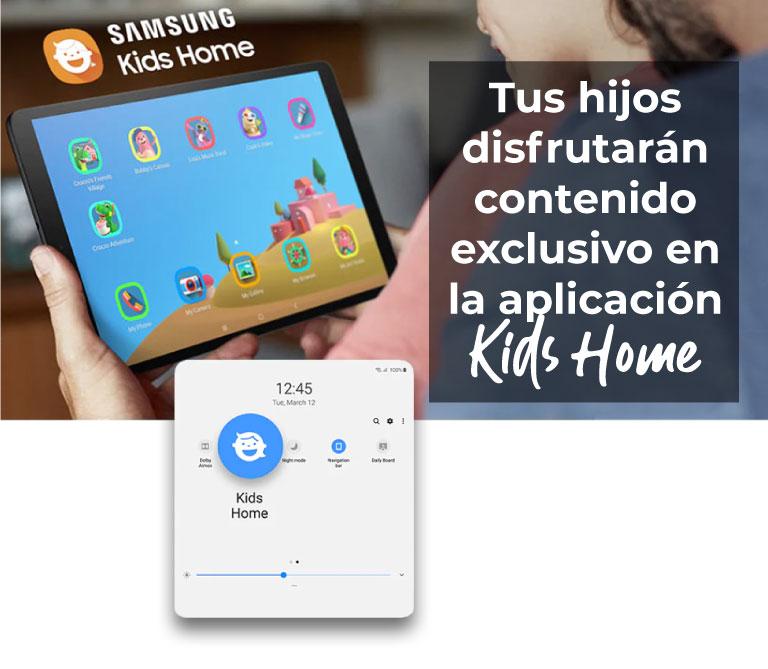Tus hijos disfrutarán contenido exclusivo en la aplicación Kids Home